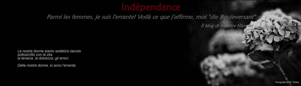 Indépendance – il blog di Beatrice Niccolai